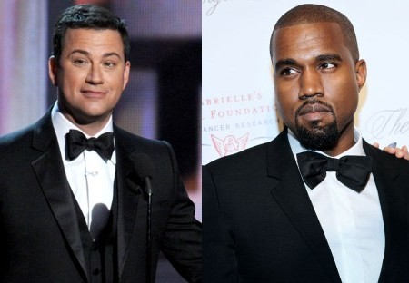 Kanye West Jimmy Kimmel Feud Looks like a prank
