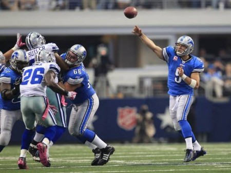 The Detroit Lions and Dallas Cowboys will square off in one of the more even match ups on Sunday.