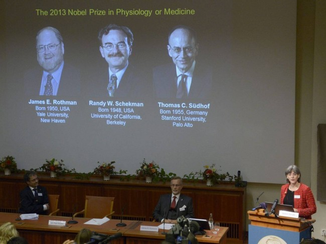 Mystery of Cell Transportation System worth the First Nobel Prize