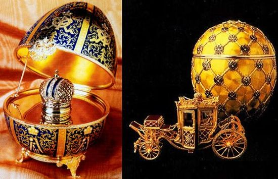 lost treasures faberge
