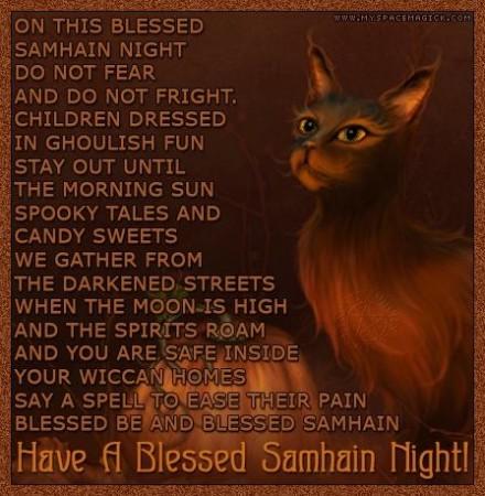 Samhain/Halloween Blessing