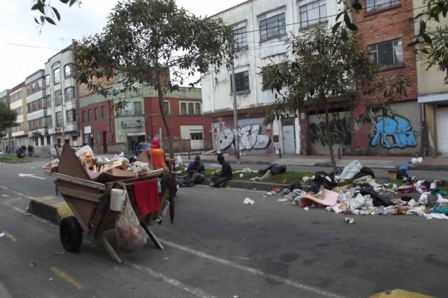 Central Los Angeles at War With Trash