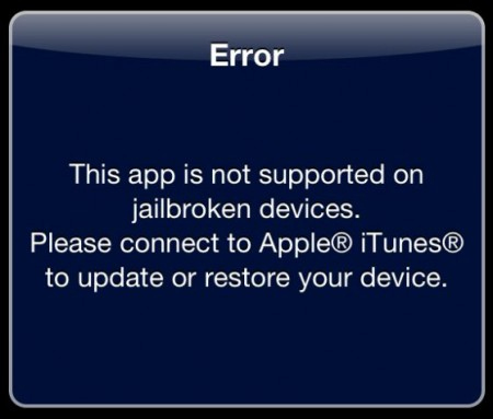 Buyer beware of jailbroken phones