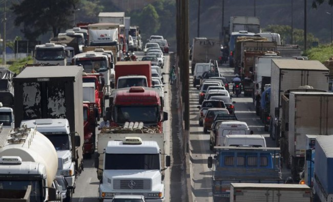 trucker protest