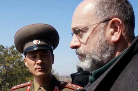 John Sweeney  in North Korea