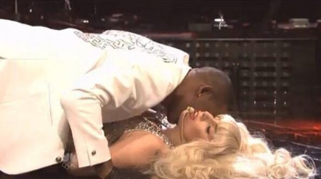 Lady Gaga is the new top pop contender for sexual stunners as she simulated sex with R. Kelly on Saturday Night Live (SNL).