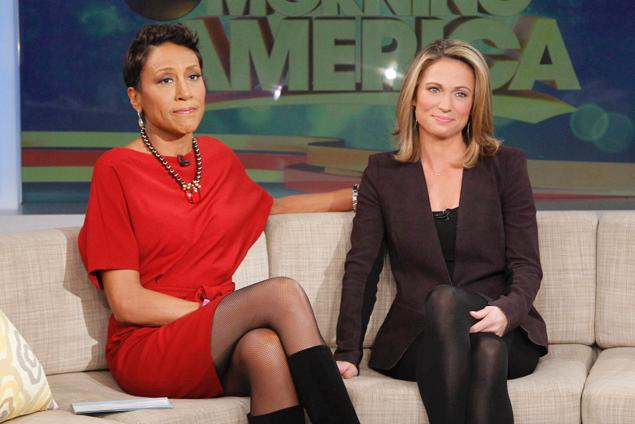 Amy Robach Thanking Co-workers On-screen Mammogram May Saved Her Lif