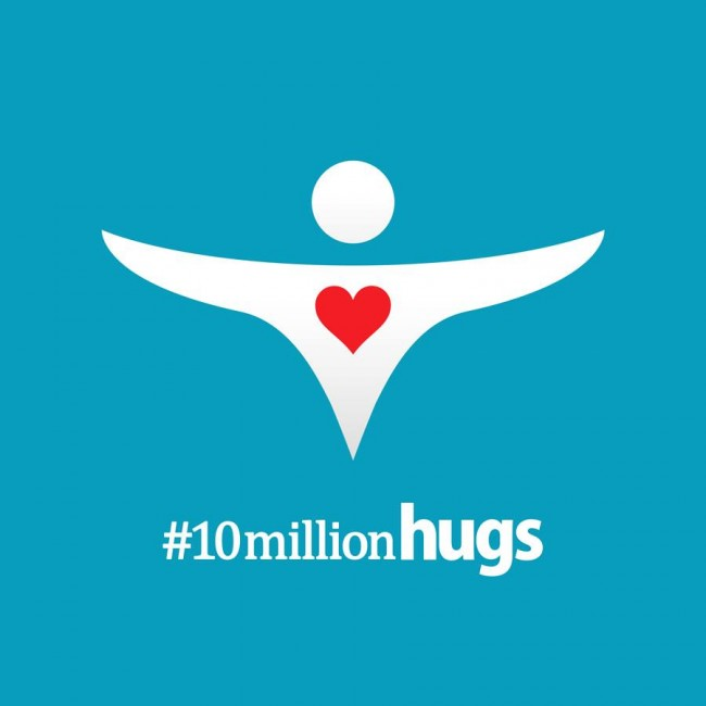 Philippines, 10 Million Hugs, Red Cross, Donation