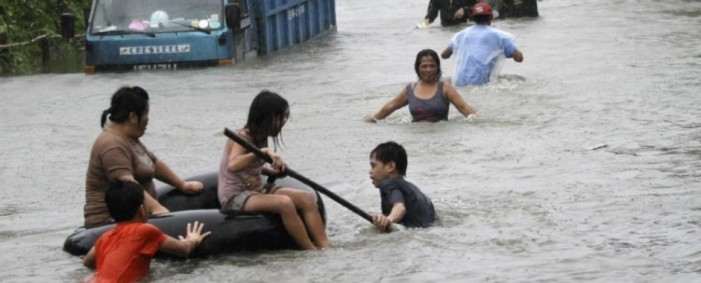 Philippines Death Toll Remains Unknown as Typhoon Hits