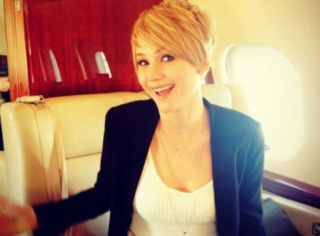 Jennifer Lawrence new hairdo