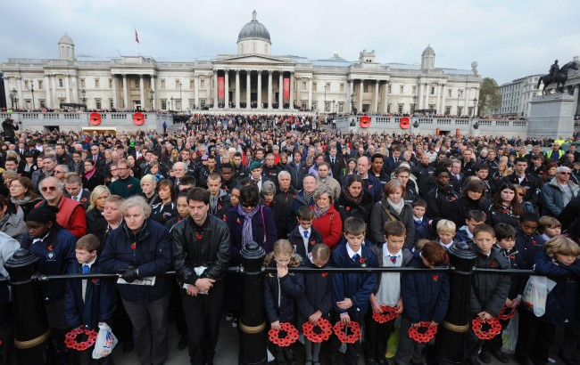 Britain Marks the End of the Great War with Two Minute Silence