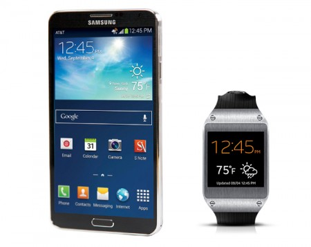 Note 3 with Galaxy Gear