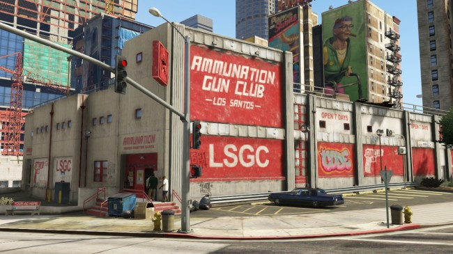 Ammunnation gun club LSGC