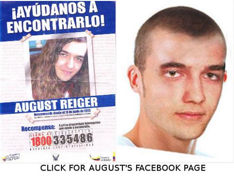 Oklahoma Scholar August Reiger Still Missing