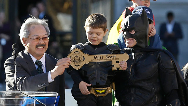 Miles Scott as Batkid