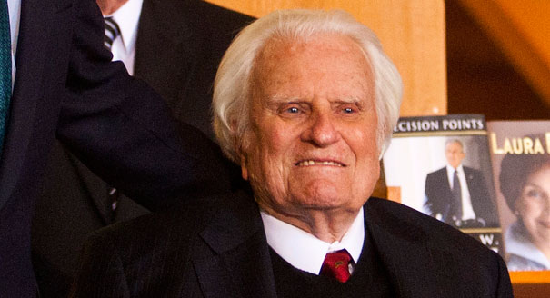 Billy Graham Hospitalized Suffering Respiratory Congestion