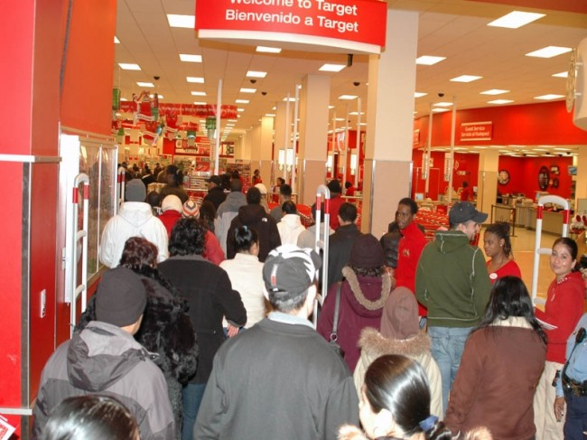 Black Friday threats of terrorist attacks failed to stop shoppers