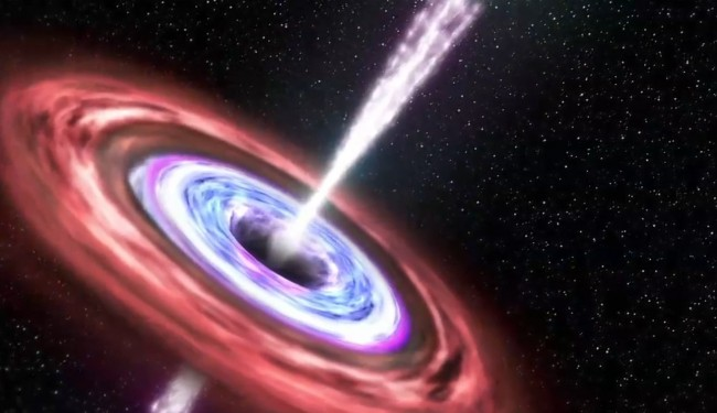 Black Hole Discovered Which Emits Brilliant Light ...