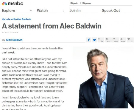 Alec Baldwin - Top 5 Moments of Denial