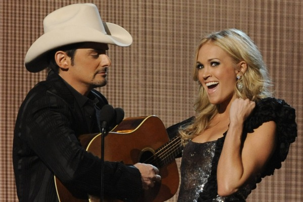 CMA Awards Show Hosted by Brad Paisley and Carrie Underwood