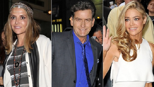 Charlie Sheen's Three-Sided Saga Heats Up and Charlie Throws a Party