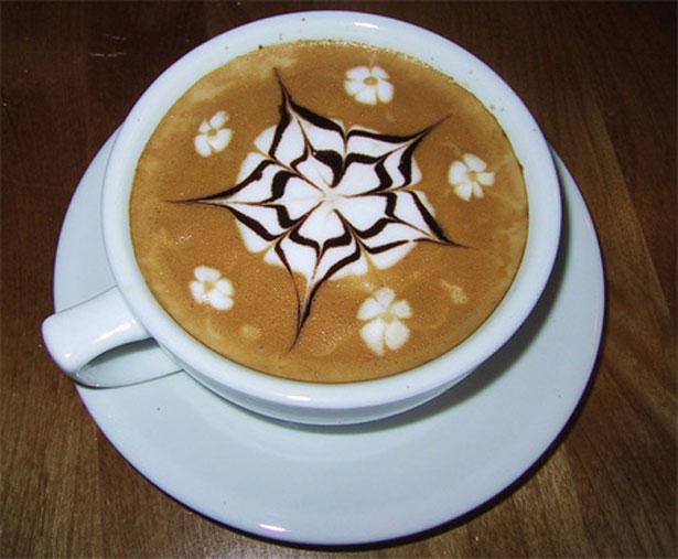 Caffeine/Coffee art