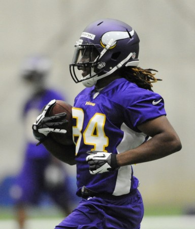 Vikings' Rookie Cordarelle Patterson