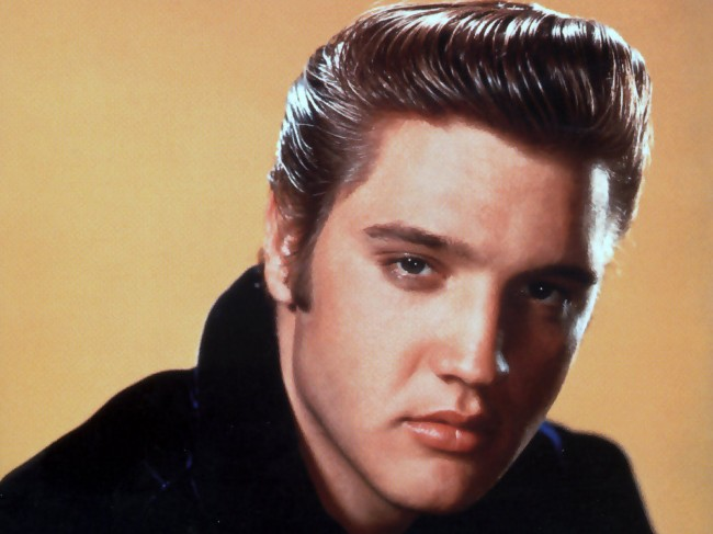 Elvis Presley and his blue suede shoes still popular today