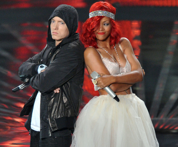 Eminem and Rihanna Share Lucky Number Seven