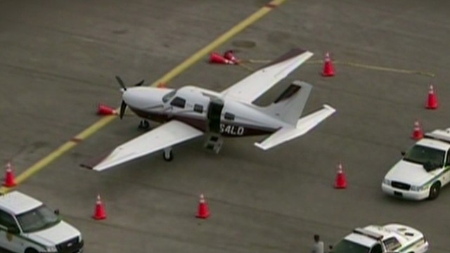 Florida Man Falls From Private Plane