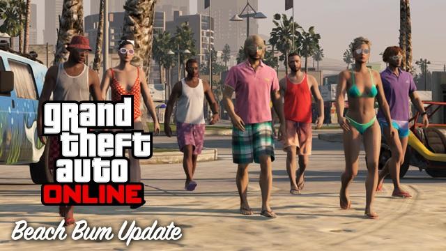 GTA V Beach Bum DLC