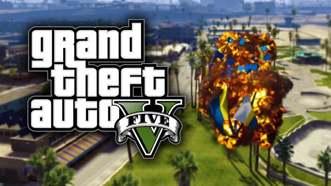 GTA 5 funny moments, glitches and stunts