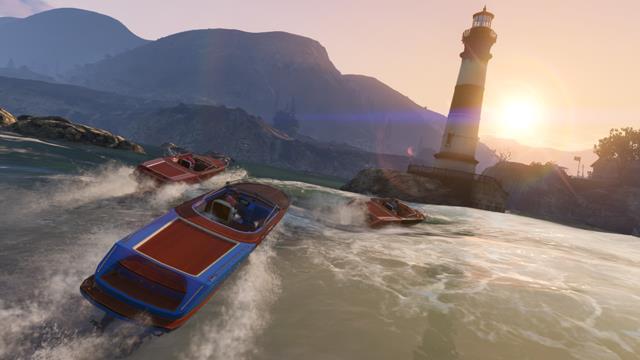 GTA V Speedy speedboat