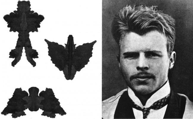 Hermann Rorschach Inkblot Test Up on Google