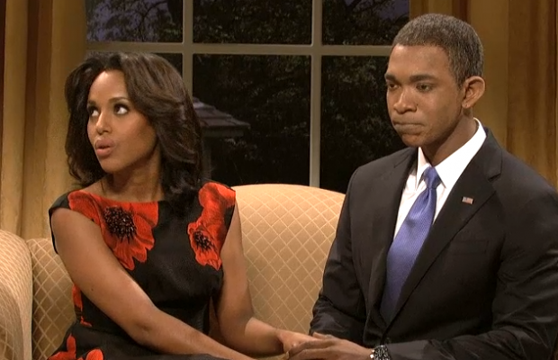 Kerry Washington Hosts SNL