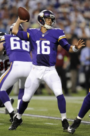 Vikings QB Matt Cassel