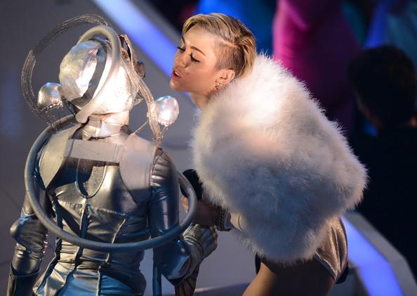 Miley Cyrus at EMA