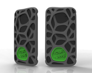 Moto X 3D printed case