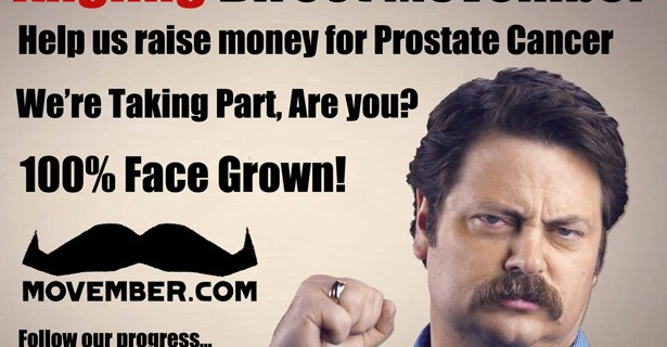 Movember Means Men's Health
