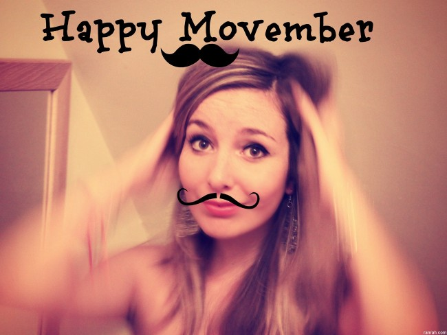 Movember for the ladies