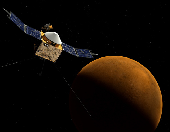 NASA to Study Martian Climate Change