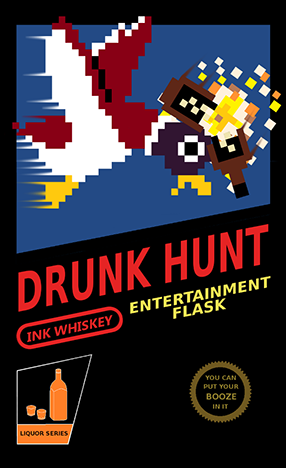 Nintendo NES Flask