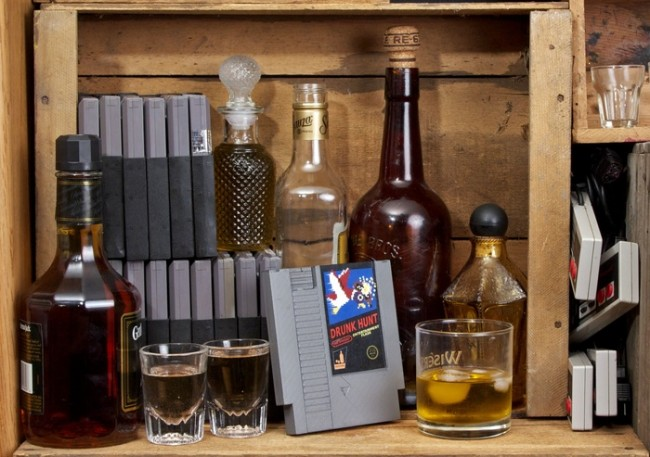 Nintendo NES Flask's at Ink Whiskey
