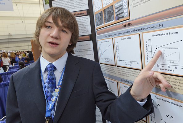 Pancreatic Cancer: Teen Scientist Invents Early Detection Test