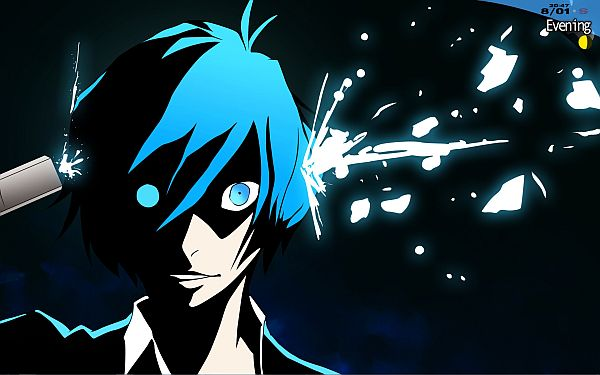 The darkened theme of Persona 3