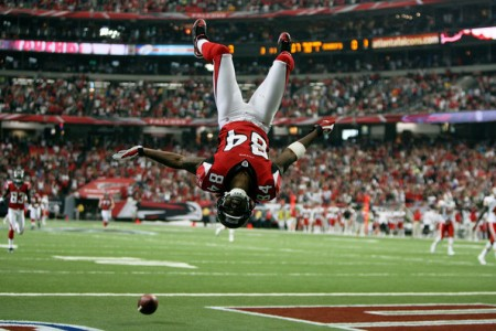 Atlanta Falcons fans should jump for joy like Roddy White after a touchdown when they see their star receiver back on the field.