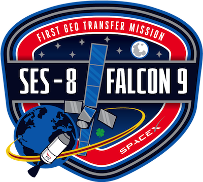 SES and Falcon 9 first geostationary transfer orbit