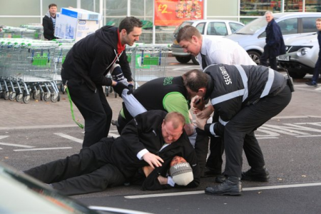 Black Friday Violence in United Kingdom