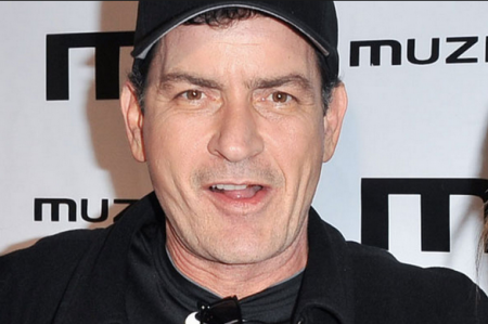 Charlie Sheen Making Out and Making Time