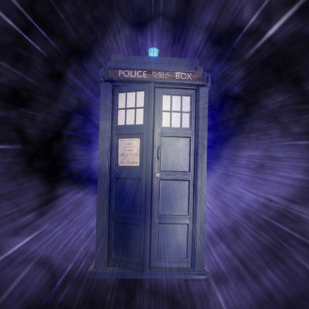 Doctor Who's sentient time manchine